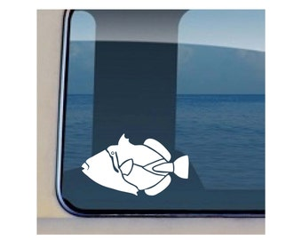 Humuhumunukunukuapuaa Decal Hawaiian Fish Sticker 519
