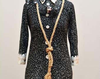 The Addams Family - Wednesday Addams Professionally Handmade Costume