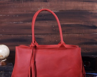 Tote Bag Leather Tote Cosmetic Bag Leather Tote Bag Laptop Bag Shoulder Bag Leather Handbag Leather Bags Women Minimalist Bag Leather Purse