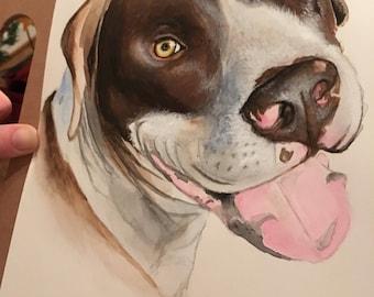 Pet Portrait Commissioned