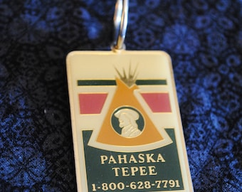 Pahaska Tepee Resort key chain fob