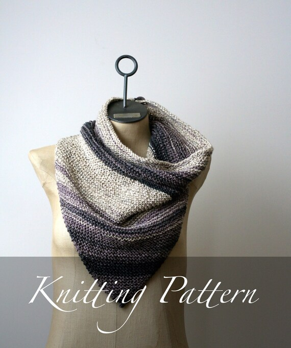 Knitted Bandana Scarf Pattern Gallery Knitting Patterns Free Download