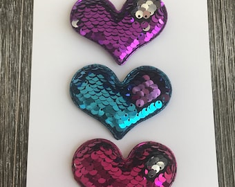 Flip Sequin Heart