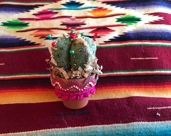 Cactus Felt Mini Pincushion