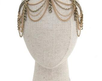 Gatsby Headpiece // Art Deco headpiece // Boho bride headpiece // Bridal headpiece // Boho Headpiece // Festival Headpiece //