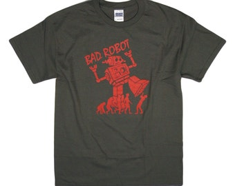 S - 2XL > Big Bang Theory inspired T-Shirt Sheldon > BAD ROBOT