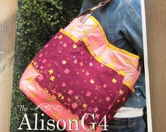 Paradiso Designs by Cheryl Kuczek, Alison G4 Hobo Bag Pattern, Travel Bag, Tote