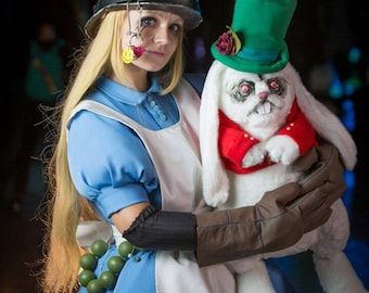 Postapocalyptic Alice in Wonderland Cosplay Costume