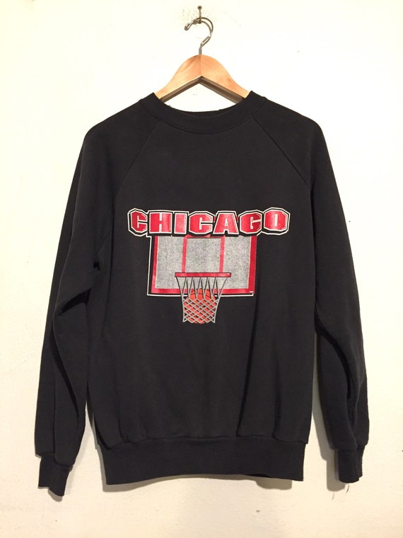 80s Chicago Basketball Sweatshirt