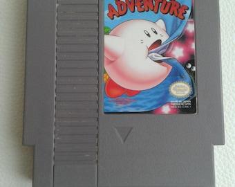 Original Vintage: Kirby's Adventure (Nintendo NES, 1993) Video Game Cart Only