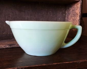 Fire King Jadeite/ Jadite Batter Bowl