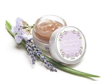 Cystic Acne + Oil Balancing Mask - Blemish Mask, Spot Mask, Spot Treatment, Natural Acne Mask, Natural Facial Mask, Organic Face Mask