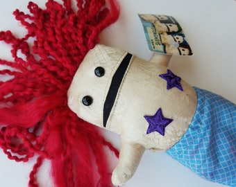 Kariel- Quirky Mermaid Doll with Detachable Tail 1