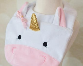 Cutie Unicorn Bib