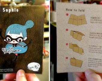 Mini Art Zine - Thief Sophie (With 8 Stickers)