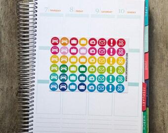 Reisen Sie, Aufkleber, Autoaufkleber, Koffer-Aufkleber, Sticker, Kalender-Aufkleber, Kamera-Aufkleber, Eclp Filofax glücklich Planer Kikkik zu tun