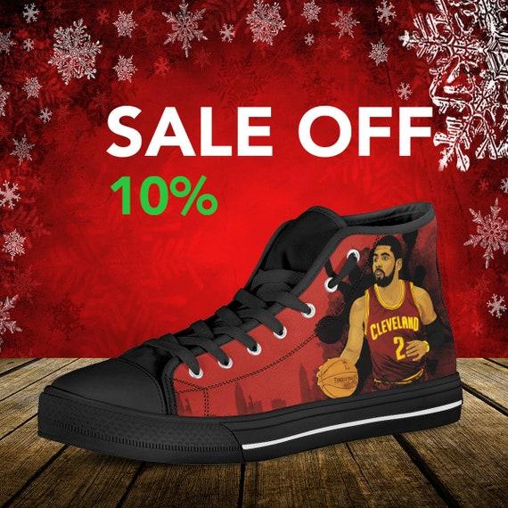 Irving Celtic Irving High Top Shoes Kyrie Basketball Converse Kyrie Basketball Boston Celtic Uncle Custom Custom NBA Custom Shoes Drew 4Oxfr1q4w