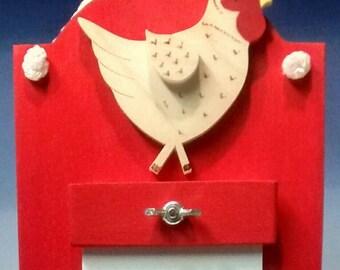 Chicken design Memo board