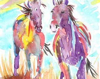 Horse Note Cards Box of 10