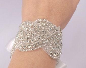 Bracelet de mariée strass