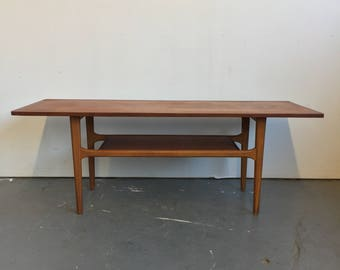 Vintage Danish Modern Coffee Table - Free NYC Delivery!