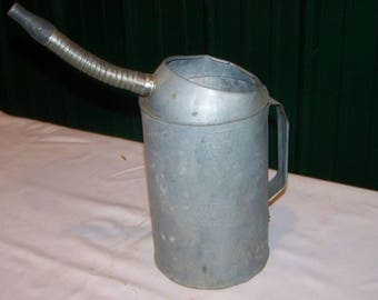 Oil Can, Vintage Can,Swing Shout, 19th Century,Industrial Decor, Man Cave