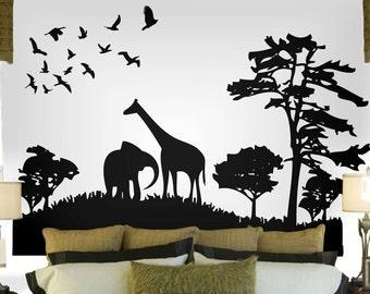 Good Safari Wall Decal | Etsy