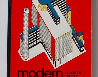 Modern Architecture A Critical History Kenneth Frampton vintage design book