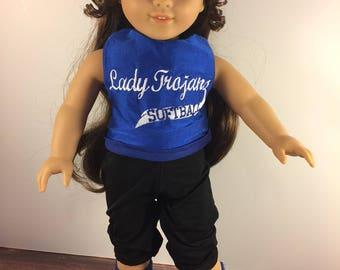 Doll Softball Uniform;Doll Uniform;Made To Match;Dollie And Me;Custom Uniforms;Custom Doll Clothes;18 Inch Doll Clothes;Matching Uniforms