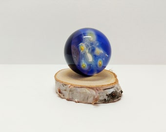 Glass Universe Marble, Meditation Marble, Glass Art, Space Marble, Glass Orb, Art Marble, Galaxy Marble, Collectible Marble, Vortex Marble