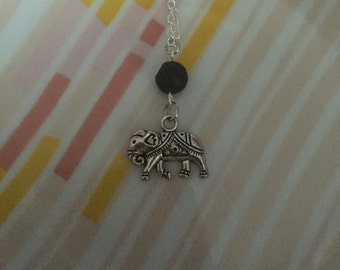 Lucky Elephant Diffuser Necklace