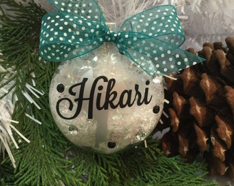 Karate Girl Ornament, Personalized, Gifts for Karate