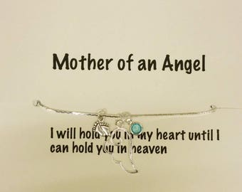 Miscarriage Jewellery - Pregnancy loss Necklace - Angel Necklace - Memorial Necklace - Angel Baby Necklace - Keepsake Jewellery