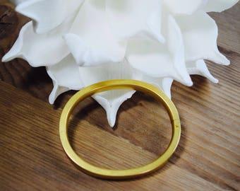 Vintage S.O. Bigney & Co Signed Gold Filled Hinge Bracelet