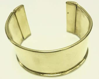 Cuff Bracelet for Embellishment, Channel for adding art or other media , sold by each J866G