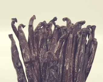 Madagascar Vanilla Beans, Bourbon vanilla beans for food use Cooking Baking Extracting