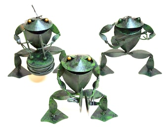 Frog Musicians figurines- Set Of 3