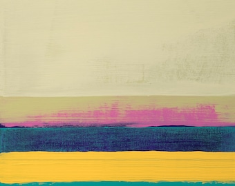 Stripe Painting #12 (That Silent Moment)