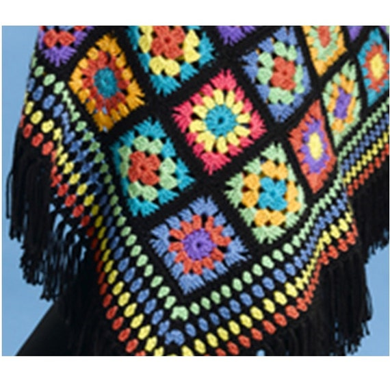 Crochet Shawl Pattern Crochet Afghan Shawl Pattern Granny Square