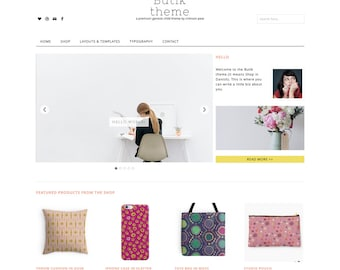 WordPress Ecommerce Theme - Genesis Child Theme - Ecommerce WordPress Theme - Responsive WordPress Theme - Woocommerce Theme: Butik