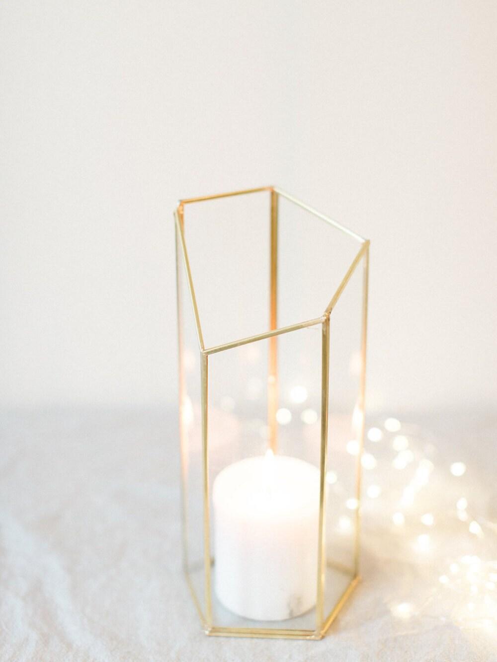 Large geometric vase centerpiece home decor modern home zoom reviewsmspy