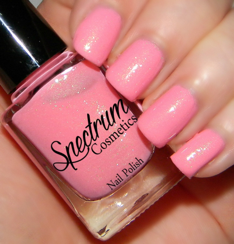 PEONY Pastel Pink Spring Nail Polish
