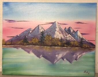 Purple Mountain Evening