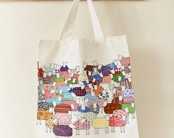 Colourful Sheep Bag