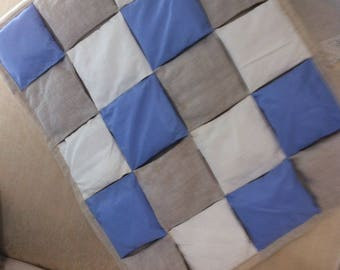 Plaid patchwork pads baby 62 x 78