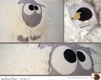 100% Handmade plush lamb-Ella