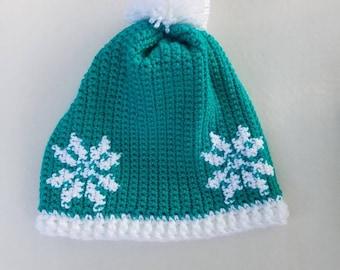 Snowflake Winter Hat