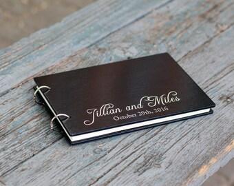 Guest Book, Wedding Guest Book, Wedding Album, Rustic Guest Book, Wedding, Wood Guest Book, Wedding Guestbook, Guestbook, Silver Guest Book