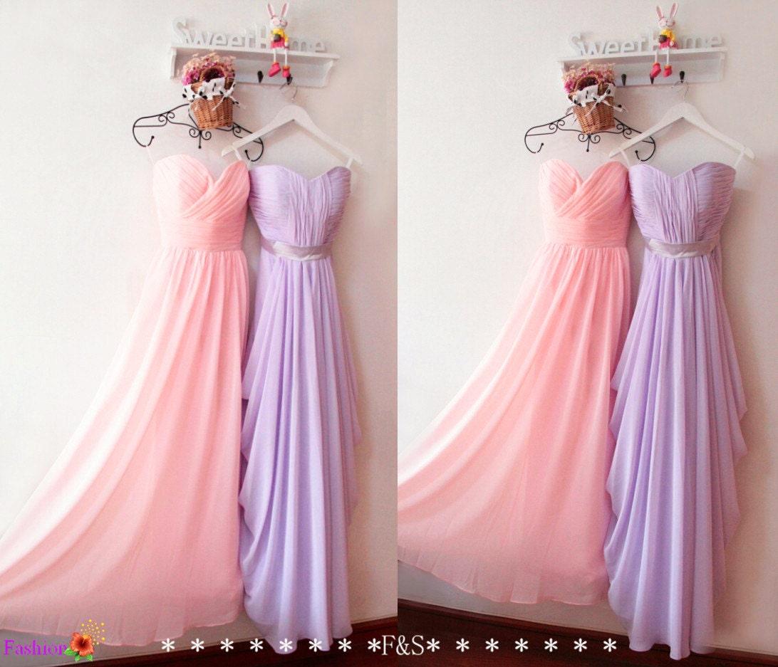 Blush pink bridesmaid dresspink bridesmaid dresslilac zoom ombrellifo Gallery