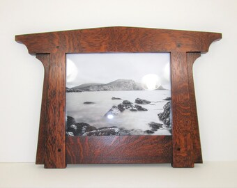 Mission Craftsman Style Arts Crafts 8 x 10 Picture Frame